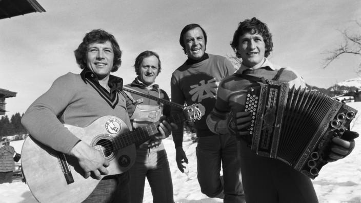 Ski Alpin Weltcup 1974/1975 Kitzbuehel: Sieger KLAMMER (Oesterreich)