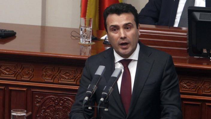 Namensstreit in Mazedonien
