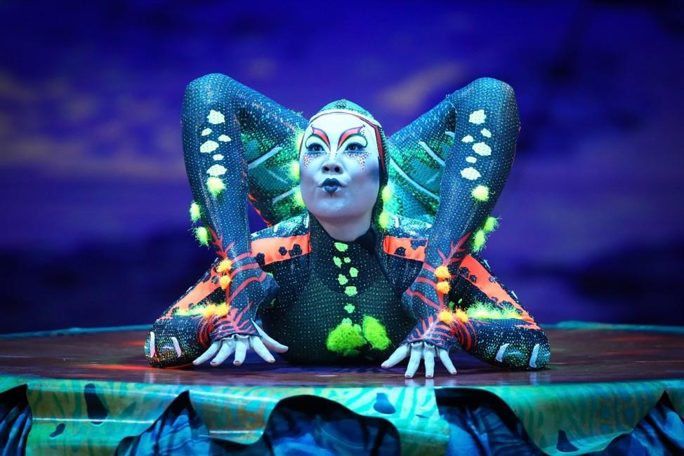 BESTPIX: Cirque Du Soleil 'TOTEM' Dress Rehearsal At The Royal Albert Hall