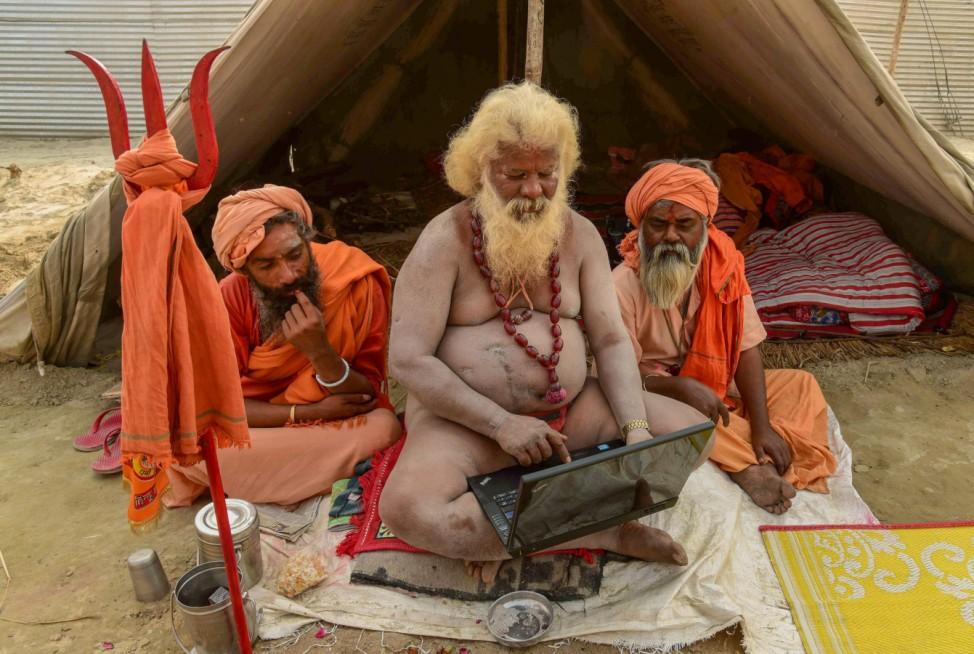 Kumbh Mela Fest in Indien