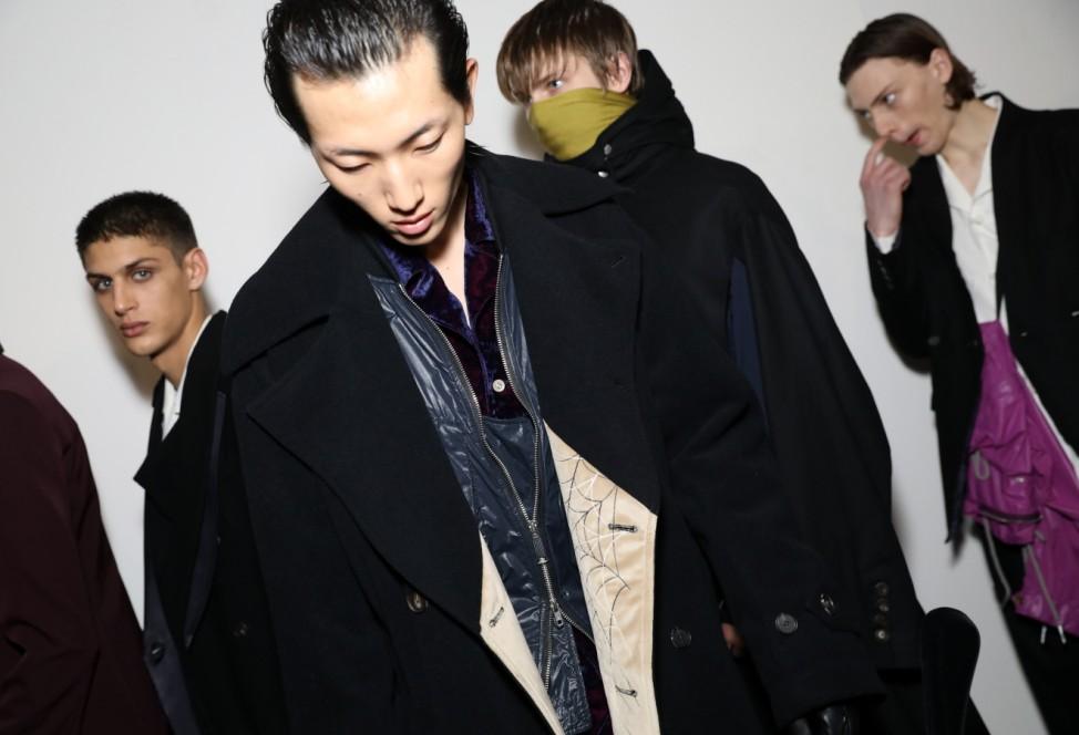 Bed J.W. Ford - Backstage - Milan Men's Fashion Week Autumn/Winter 2019/20