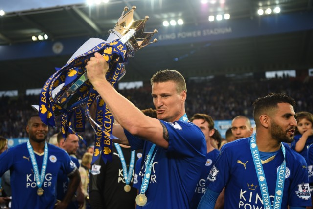 Leicester City v Everton - Premier League; Huth