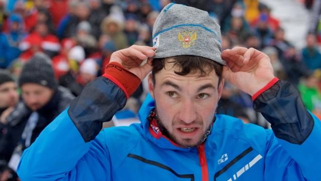 Biathlon Oberhof 11 01 2019 IBU World Cup Biathlon 10 km Sprint Herren Männer Men LOGINOV Alexander