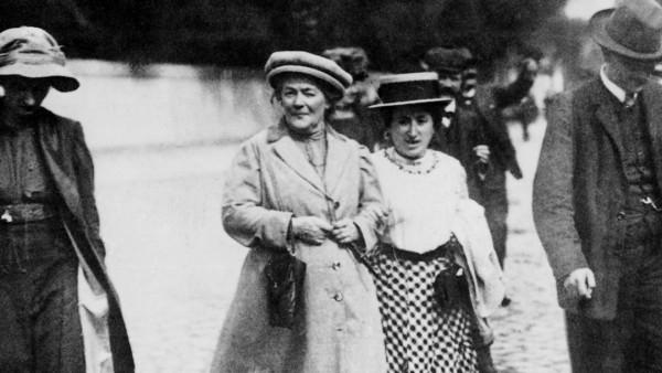 Rosa Luxemburg und Clara Zetkin