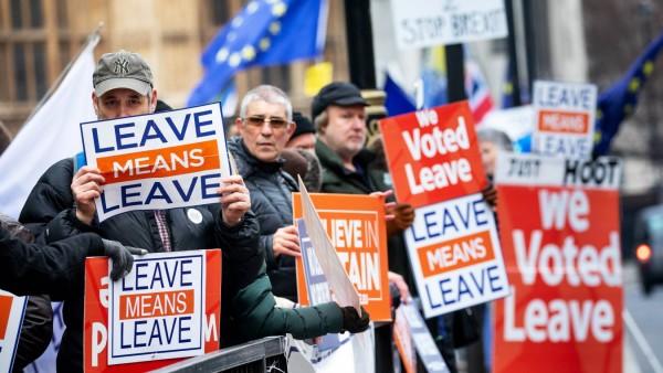 Brexit-Demonstration in London