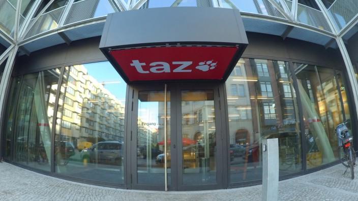 Besetzung der 'taz'
