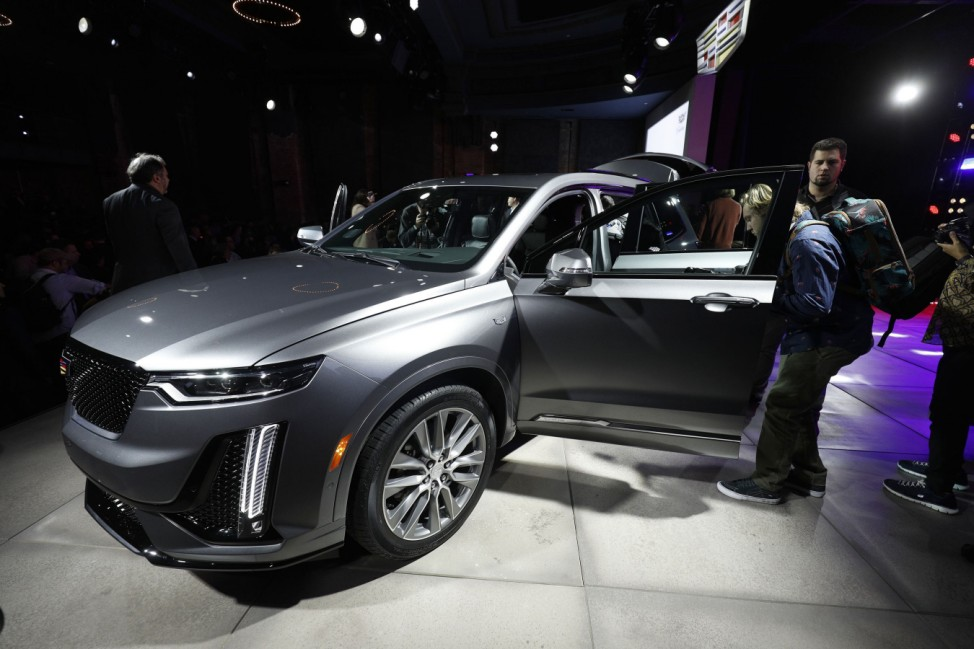 General Motors Cadillac Holds Media Event Ahead Of Start Of North American International Auto Show