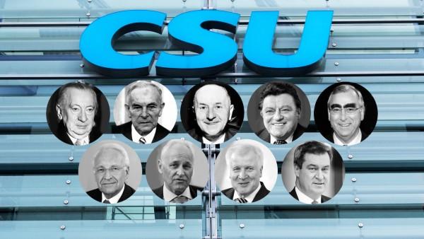 CSU-Parteichefs