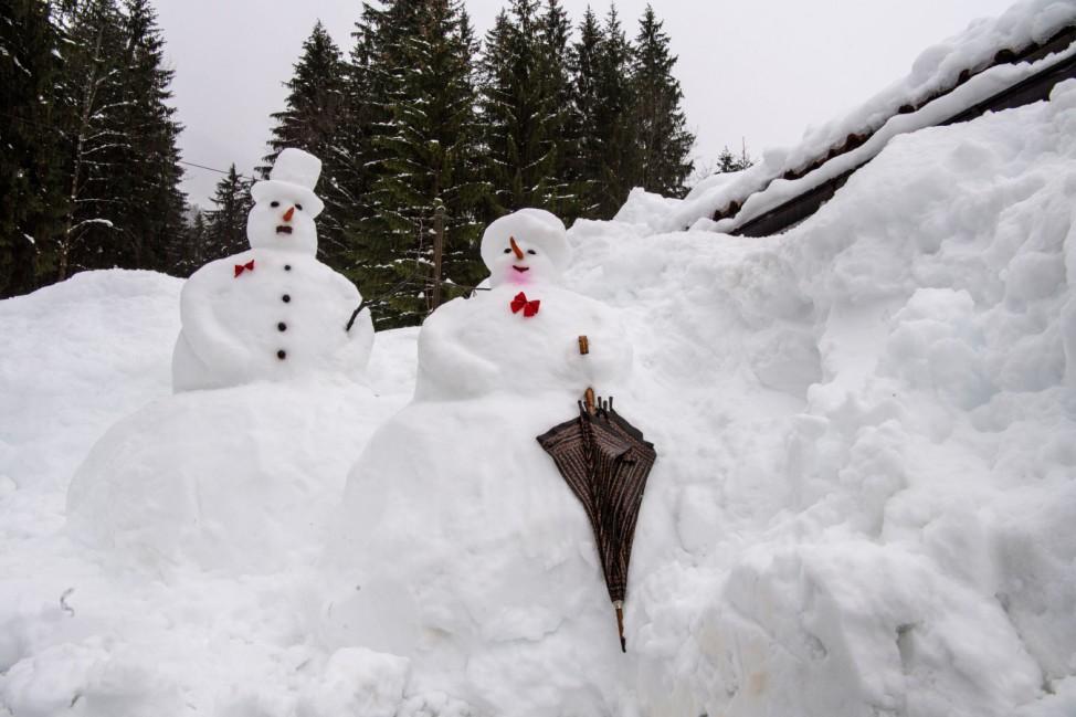 Winterwetter in Bayern - Rottach-Egern