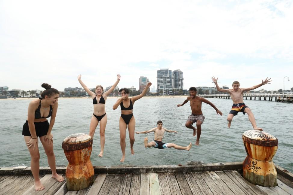 ***BESTPIX*** Australians Experience Heatwave Conditions