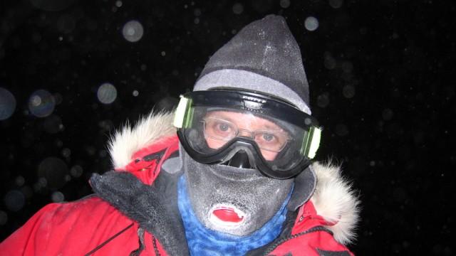 Robert Schwarz,  Forschungsstation in der Antarktis