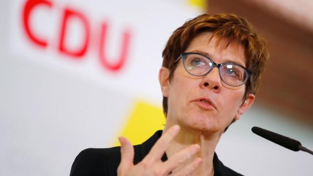 CDU party meeting in Potsdam
