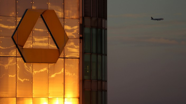 Commerzbank-Hauptquartier in Frankfurt