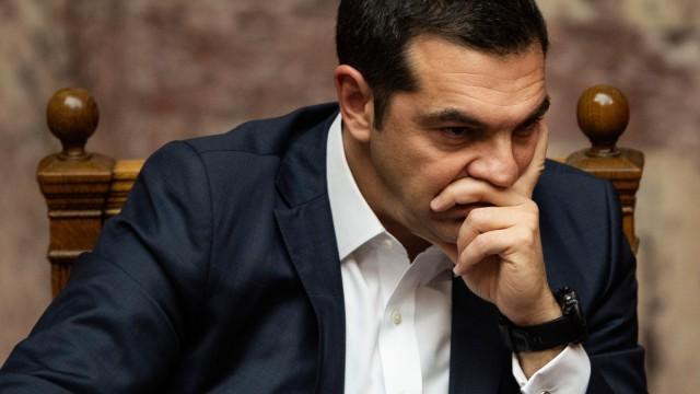 Griechenlands Premier Tsipras stellt Vertrauensfrage