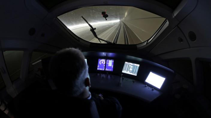 Bahn testet neue ICE-Strecke
