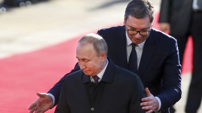Vladimir Putin, Aleksandar Vucic