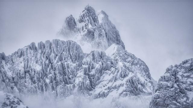 Dreitorspitze in den Alpen, 2019