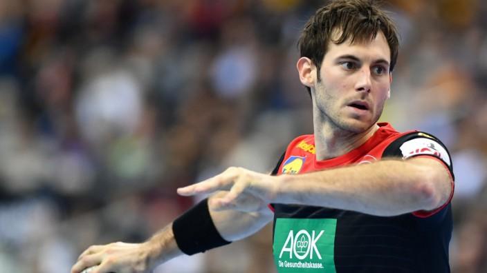 Handball: Uwe Gensheimer beim Spiel Deutschland gegen Korea