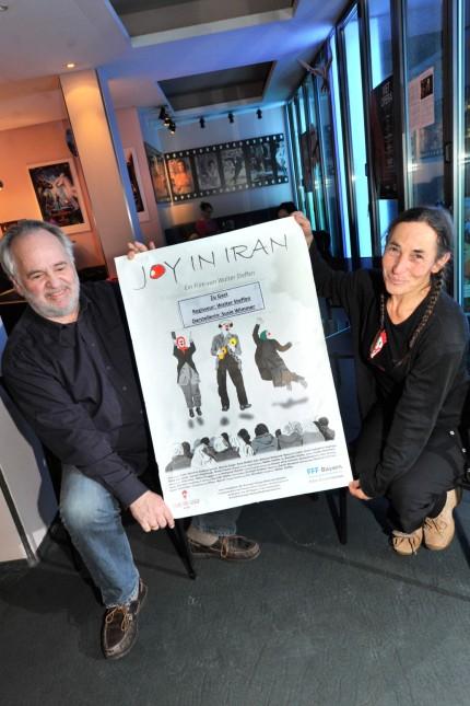 Starnberg: Kinofilm 'Joy in iran' mit Hauptdarstellerin Susie Wimmer & Regisseur Walter Steffen