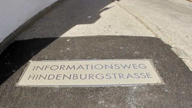 Informationsweg Hindenburgstraße