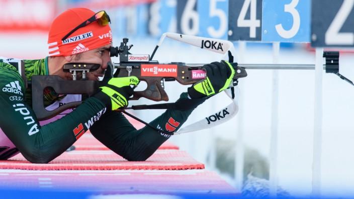 Biathlon-Weltcup Ruhpolding - Sprint Männer
