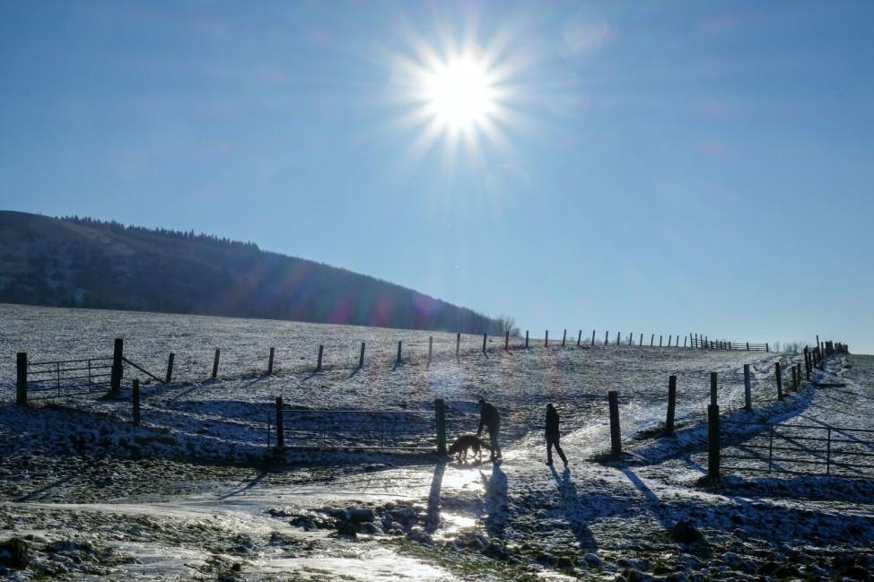 Winter auf dem Dörnberg