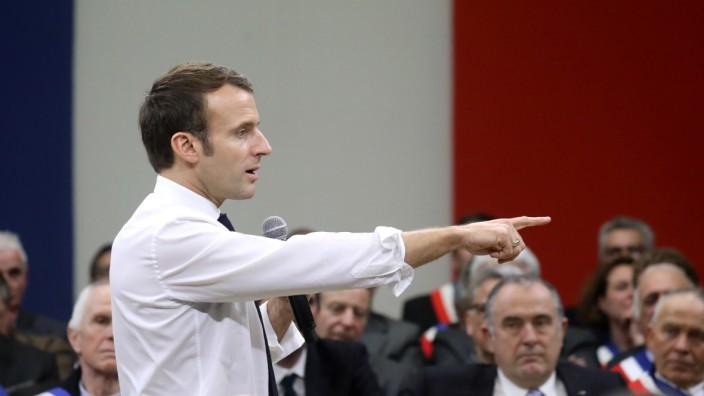 Emmanuel Macron, Frankreich