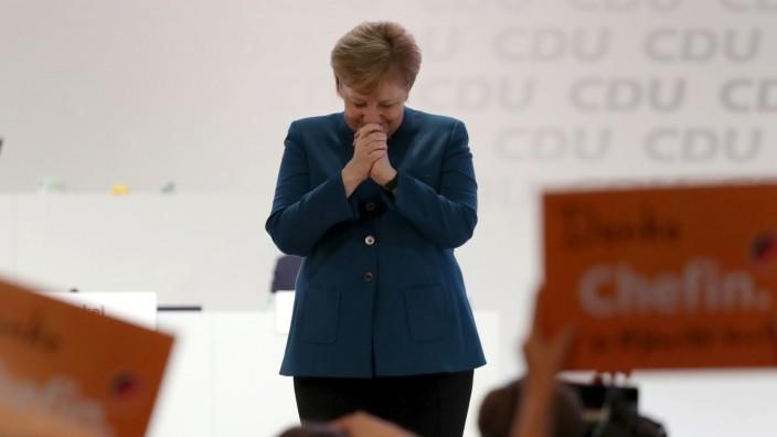 Angela Merkel (CDU) beim CDU-Parteitag