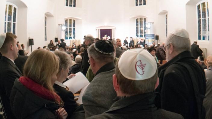 Einweihung einer Synagoge in Cottbus