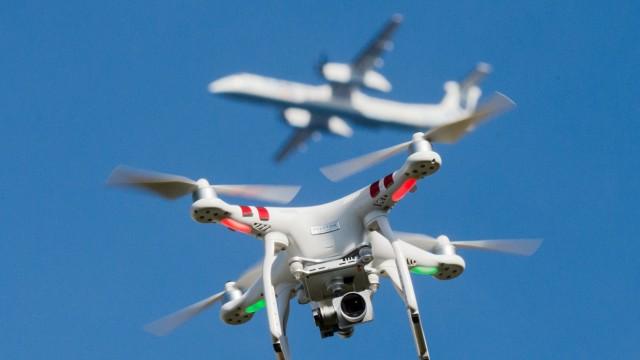 Mehr Drohnen in der Nähe von NRW-Flughäfen