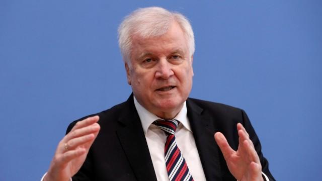 Bundesinnenminister Horst Seehofer in Berlin