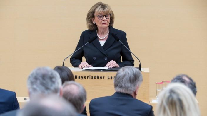Charlotte Knobloch beim Gedenktag für die Opfer des Nationalsozialismus im bayerischen Landtag