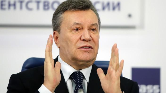 Ex-Präsidenten Janukowitsch wegen Hochverrats verurteilt