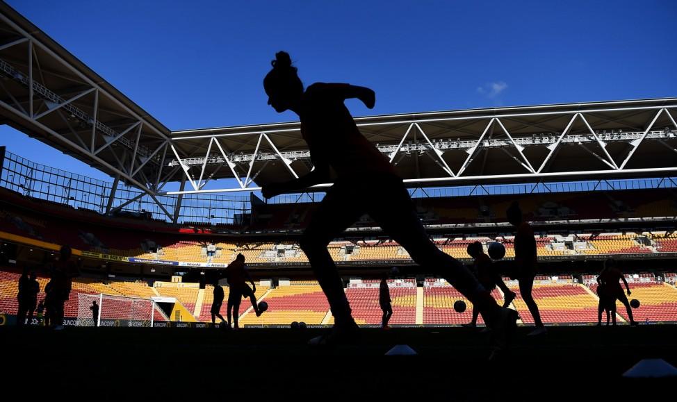 ***BESTPIX*** W-League Rd 13 - Brisbane v Canberra
