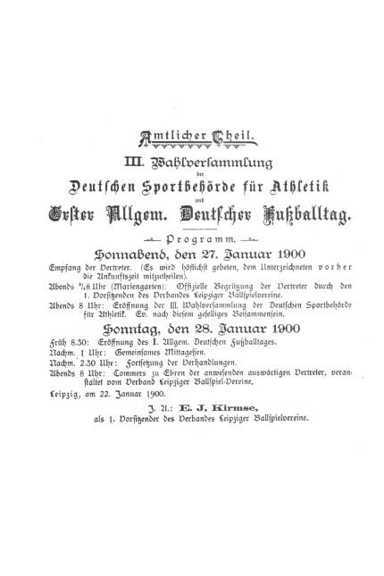 DFB Gründung Versammlung