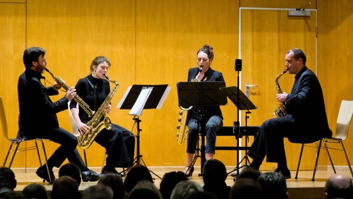 Sonic.Art Quartett in Vaterstetten