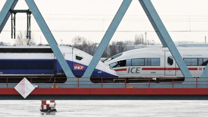 Siemens und Alstom - ICE und TGV