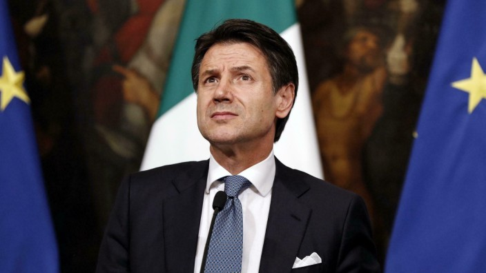 Wirtschaftsdaten: Trotz schlechter Aussichten optimistisch: Italiens Premierminister Giuseppe Conte.