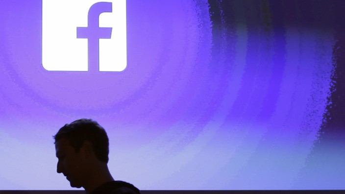 Facebook-Chef Mark Zuckerberg im Firmensitz in Menlo Park