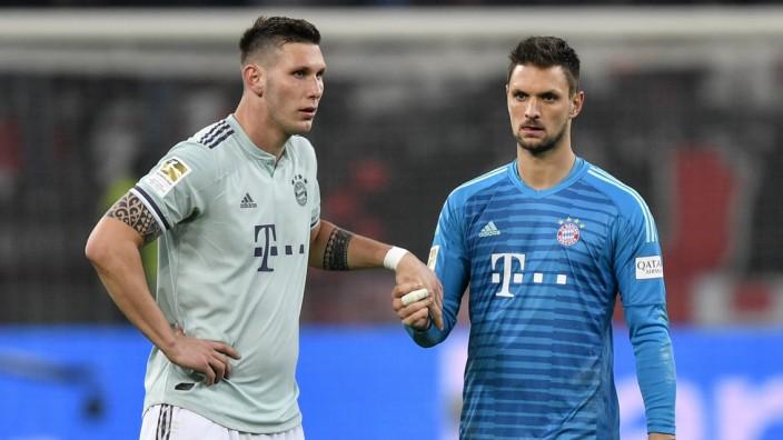 1:3-Niederlage gegen Leverkusen: Bedient: Niklas Süle und Sven Ulreich.