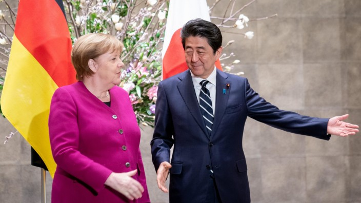 Bundeskanzlerin Merkel in Japan