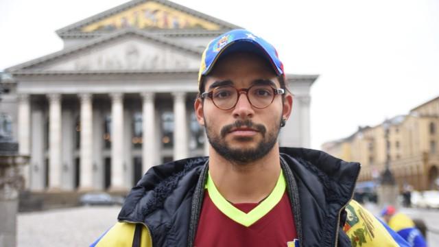 Erick Ehrmann - Venezolaner in Deutschland