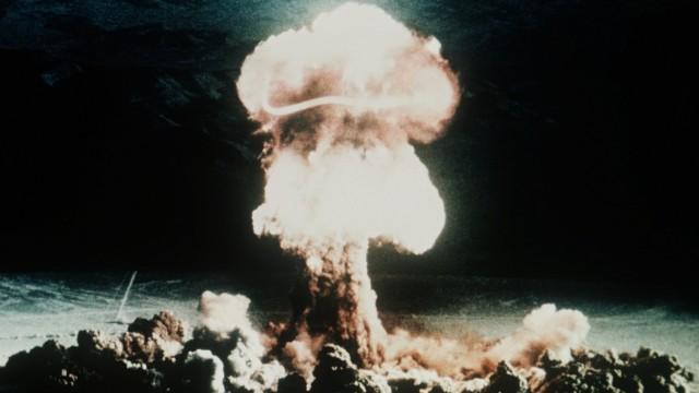 Atomtest in der Wüste von Nevada