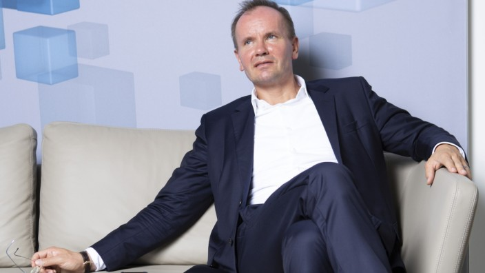 Wirecard AG CEO Markus Braun Interview As Fintech Company Enters Germany's Benchmark DAX Index