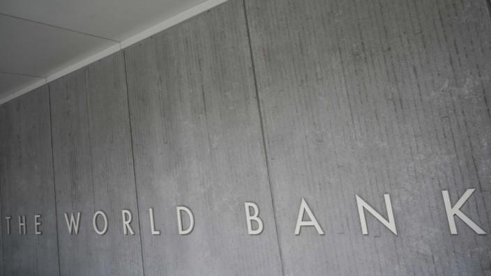 Internationale Politik: Der Sitz der Weltbank in Washington.