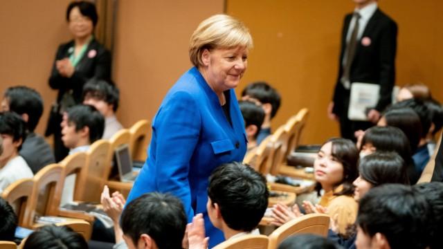 Bundeskanzlerin Merkel in Japan