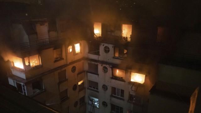 Brand in Paris 2019 in einem Wohnhaus