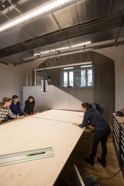 Neue Designfakultät Hochschule München
