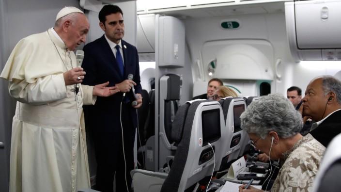 Der Papst kehrt nach Rom zurück
