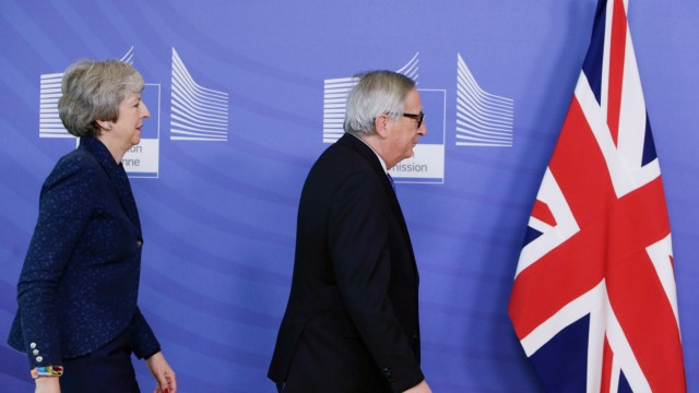 Brexit May Juncker